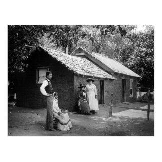 My Old Adobe Home, 1880s Postcard