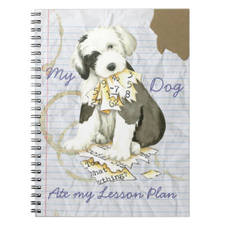 My Old English Sheepdog Ate my Lesson Plan Notebook