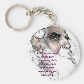 """""""My Old Fogie"""" Key Chain"""