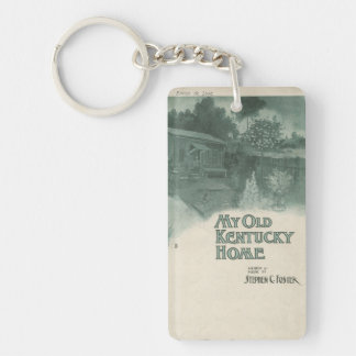 My Old Kentucky Home Acrylic Keychains