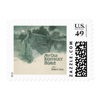 My Old Kentucky Home Postage
