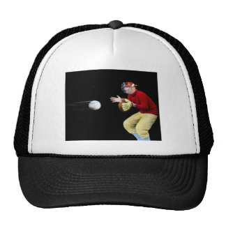 My Old Man Is Baseball Mad Magic Lantern Slide Trucker Hat