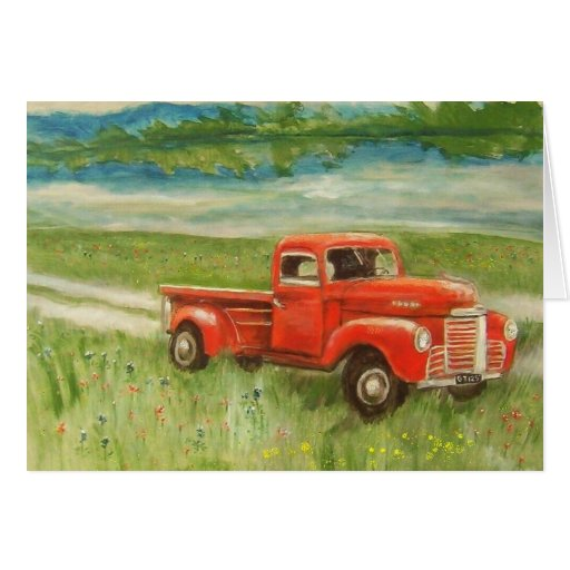 My Old Truck Card