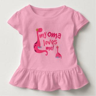 My Oma Loves Me Grandchild Gift Girls Shirt