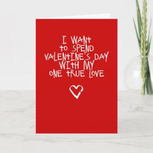 funny valentine 39 s day cards zazzle. Black Bedroom Furniture Sets. Home Design Ideas