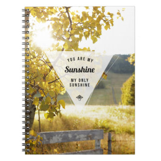 My Only Sunshine Inspirational Photo Notebook
