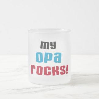 My Opa Rocks T-shirts and Gifts Mugs