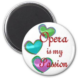 My Opera Passion Refrigerator Magnet