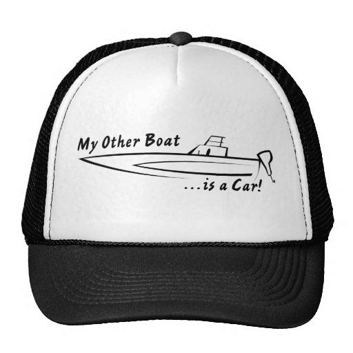 My Other Boat is a Car! Mesh Hat