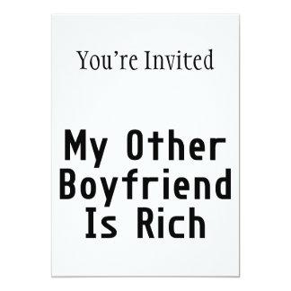 My Other Boyfriend Is Rich Card