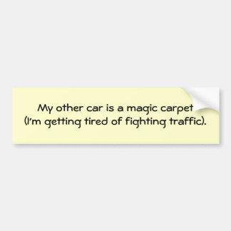 my-other-car-03 bumper sticker
