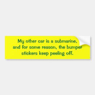 my-other-car-30 car bumper sticker
