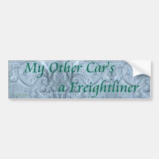My_Other_Car_Bumper_Sticker Bumper Sticker