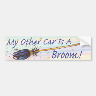 My Other Car Is A Broom 7 - Bumber Sticker