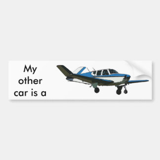 My other car is a bumper sticker