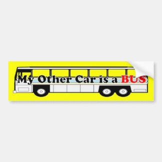My Other Car is a BUS Car Bumper Sticker