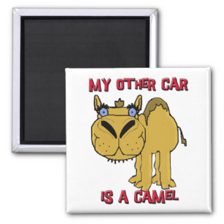My Other Car is a Camel Schnozzle Cartoon Magnet