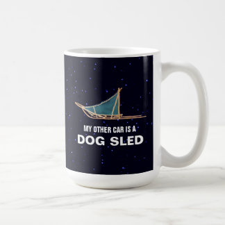 My Other Car Is A Dog Sled Coffee Mug