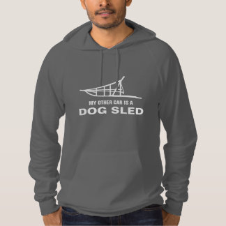 My Other Car Is A Dogsled Hooded Sweatshirt
