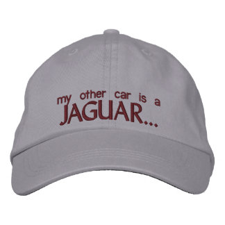 MY OTHER CAR IS A JAGUAR EMBROIDERED BASEBALL CAP
