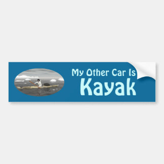 My Other Car Is A Kayak Bumper Sticker