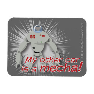 My other car is a Mecha Magnets