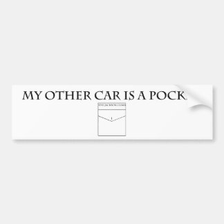 My other car is a pocket bumper sticker