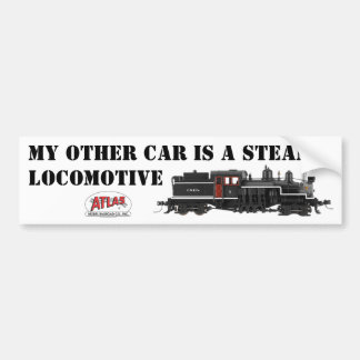 My Other Car is a Steam Loco Bumper Sticker