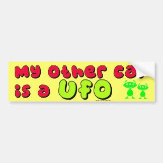 My Other Car Is A UFO Bumper Sticker