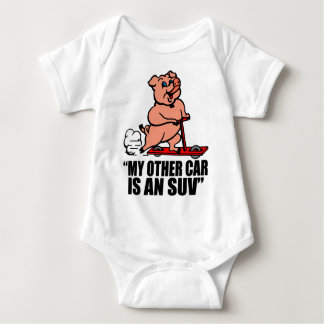 """""""My Other Car Is an SUV"""" Baby Bodysuit"""