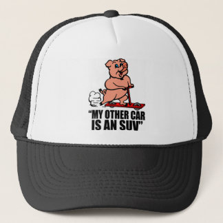 """""""My Other Car Is an SUV"""" Trucker Hat"""