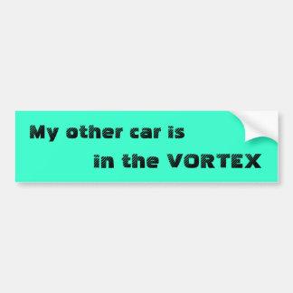 My other car is, in the VORTEX Bumper Sticker