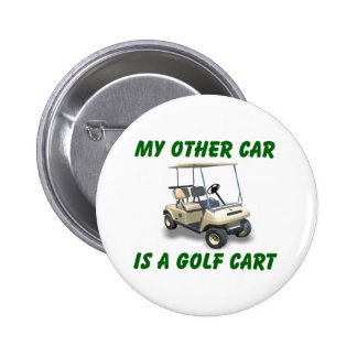 My other car pinback button