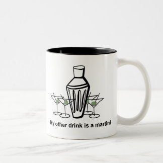 My other drink is a martini - mug