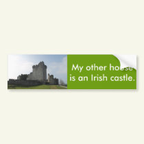 My Other House Is An Irish Castle Bumper Sticker