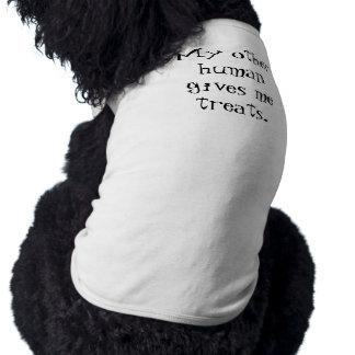My other human gives me treats. T-Shirt