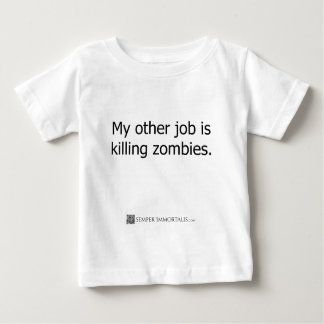My other job is killing zombies t-shirt