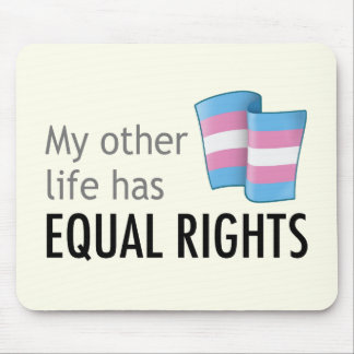 My Other Life Trans Light Mousepad