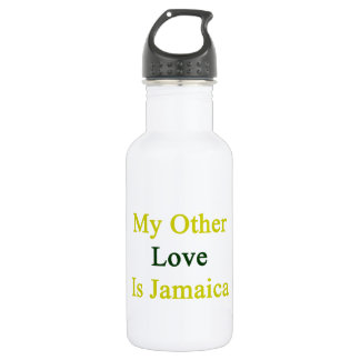 My Other Love Is Jamaica 18oz Water Bottle
