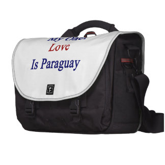 My Other Love Is Paraguay Commuter Bags