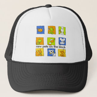 """My other Pet - """"new pets on the block"""" Trucker Hat"""