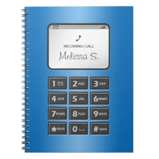 My Other Phone - Blue Notebook