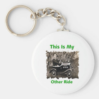 My Other Ride Basic Round Button Keychain