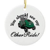 My Other Ride Ceramic Ornament