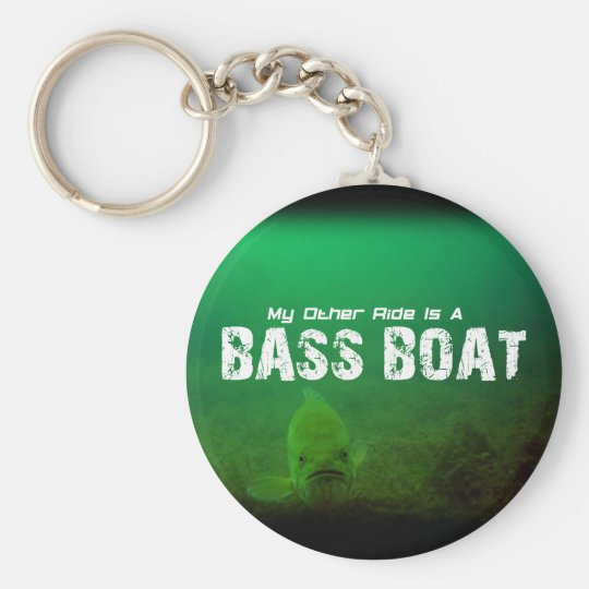 My Other Ride Is A Bass Boat Key Chain