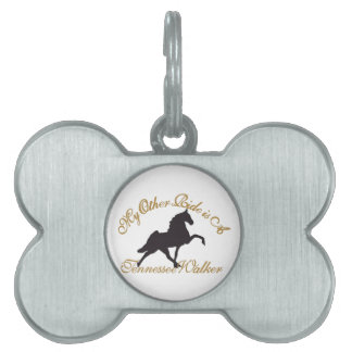 My Other Ride Pet ID Tag