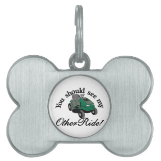 My Other Ride Pet Tag