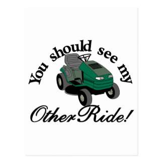My Other Ride Postcard