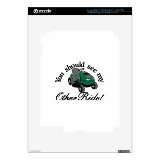 My Other Ride Skins For iPad 3
