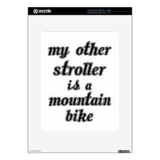 My Other Stroller Is A Mountain Bike Decal For The iPad